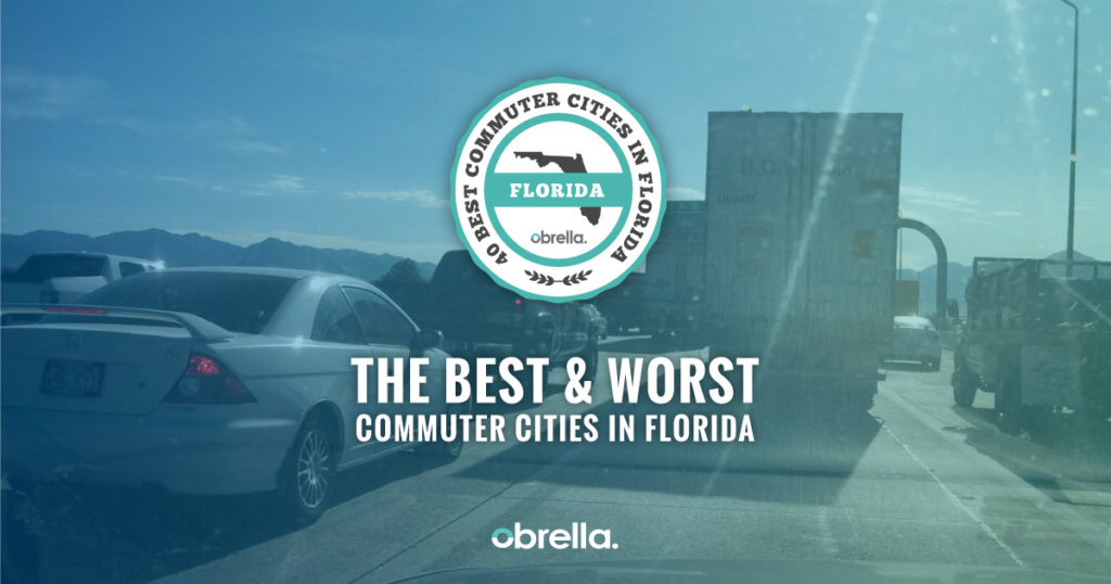 40 Best and Worst Commuter Cities in Florida - Obrella