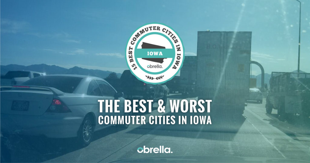 Best Commuter Cities in Iowa